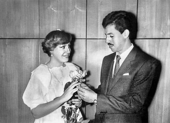 Марина Голуб и Евгений Тройнин